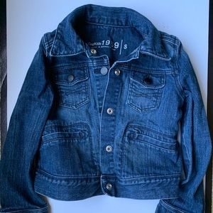 Gap Kids Denim Jacket Size Small